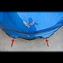 C7 Corvette Stingray Front Lip Spoiler / Splitter Polished