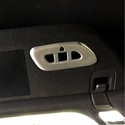 C7 Corvette Stingray Garage Door Opener / Homelink Cover - Brushed Aluminum
