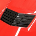 C7 Corvette Stingray Hood Vent Direct Fit - Carbon Fiber