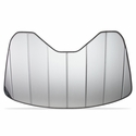 C7 Corvette Stingray Insulated Silver Accordion Style Sunshade