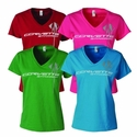 C7 Corvette Stingray - Ladies Triple Mark V-Neck Tee