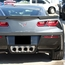 C7 Corvette Stingray Matrix Taillight Grilles