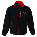 C7 Corvette Stingray Men's Matrix Soft Shell Jacket
