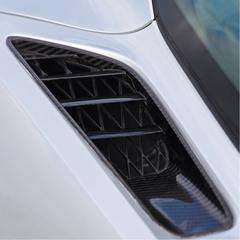 C7 Corvette Stingray Quarter Intake Ducts - Carbon Fiber : Concept7