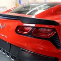 C7 Corvette Stingray Rear Deck Spoiler Version 1 - Carbon Fiber