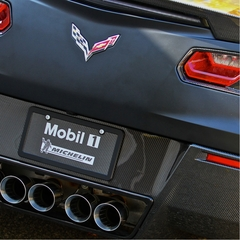 C7 Corvette Stingray Rear Diffuser - Carbon Fiber : Concept7