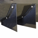 C7 Corvette Stingray Rear Diffuser - Strake only - Carbon Fiber Katech