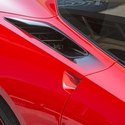 C7 Corvette Stingray - Rear Quarter Vent Sport Fade Graphic 2pc.