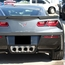 C7 Corvette Stingray Rear Valance Vent Grilles - Matrix - click to enlarge
