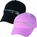 C7 Corvette Stingray Rhinestone Ladies Hat