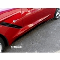 C7 Corvette Stingray Side Skirts : Stage II