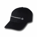 C7 Corvette Stingray Structured Cotton Twill Cap : Black - Ralph White Merchandising NC188