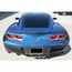 C7 Corvette Stingray Tag Back Carbon Fiber w/Polished Trim - click to enlarge