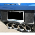 C7 Corvette Stingray Tag Back Carbon Fiber w/Polished Trim