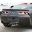 C7 Corvette Stingray Taillight Trim Kit w/Emblem - click to enlarge