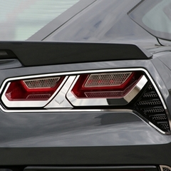 C7 Corvette Stingray Taillight Trim Kit w/Emblem