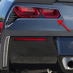 C7 Corvette Stingray Taillight Trim Ring