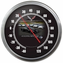 "C7 Corvette Stingray Thermometer : 14"" Black C7 Corvette"