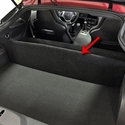 C7 Corvette Stingray Trunk Partition - Carpeted : Coupe only