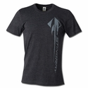 C7 Corvette Stingray Vertical T-shirt : Heather Black
