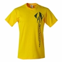 C7 Corvette Stingray Vertical T-shirt : Velocity Yellow