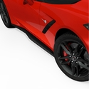 C7 Corvette Stingray Z06 Style Side Rockers - Zero7 - ACS Composite 45-4-015