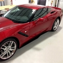 C7 Corvette Stingray Z06 Style Side Skirts / Rockers ZR7 : Z06 Only Fitment