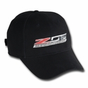 C7 Corvette Stingray - Z06 Supercharged Logo Cap : Black - Ralph White Merchandising NC189