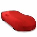 C7 Corvette Ultraguard Stretch Satin Car Cover- Red - Indoor