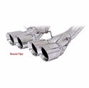 C7 Corvette Z06 Exhaust System - B&B Fusion Bi-Modal Exhaust : Quad Round Tips