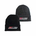 C7 Corvette Z06 Knit Pullover Beanie with Cuff