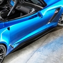 C7 Corvette Z06 Side Skirts / Rockers : RTM Composite