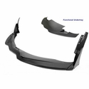 C7 Corvette Z06 - Track Pack Front Air Dam / Splitter with Undertray - Carbon Fiber