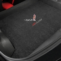 C7 Corvette Z06 w/ Crossed Flags Cargo Mats - Lloyds Mats: Z06