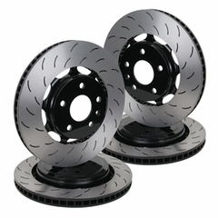 C7 Corvette Z51 Powder Coated Rotors / Black