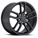 C7 Corvette Z51 Style Reproduction Wheels : Satin Black