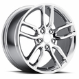 C7 Corvette Z51 Style Wheels (Set) : Chrome 18x8.5/19x10 C6 & C7