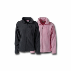C7 Logo Corvette Ladies Sonoma Full-Zip Microfleece Jacket