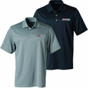 C7 Corvette Polo - Mens Callaway Z06 Supercharged Micro Polo : Black, Silver