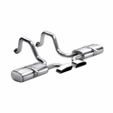 Corsa Indy Pace Car Axle-Back Corvette Exhaust - GTR Tips (97-04 C5 / C5 Z06) - Corsa 14109