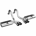 Corsa Indy Pace Car Axle-Back Corvette Exhaust - Quad Classic Tips (97-04 C5 / C5 Z06) - Corsa 14105