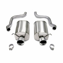 "Corsa Sport Axle-Back Corvette Exhaust - Dual 4.0"" Pro Tips (05-08 C6) - Corsa 14160"