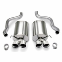 "Corsa Sport Axle-Back Corvette Exhaust - Quad 3.5"" Pro Tips (05-08 C6) - Corsa 14169"