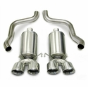 "Corsa Xtreme Axle-Back Corvette Exhaust - Quad 3.5"" Pro Tips (05-08 C6) - Corsa 14469"