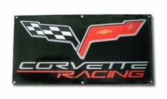 Corvett Racing Banner with C6 Logo (05-12 C6)