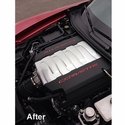Corvette 2014 C7 Painted Engine Plenum Cover Overlay