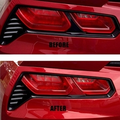 Corvette 2014 C7 Painted Taillight Center Bar Insert Set