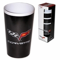 Corvette 4Pc Tumbler Set w/C6 Logo