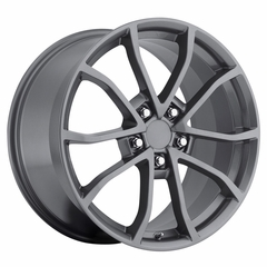 Corvette 60th Anniversary 427 Centennial Special Edition - Cup Style Wheels (Set) Comp Grey : 17x8.5 / 18x9.5