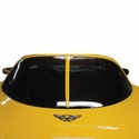 Corvette - �63 Style Rear Window Trim : 1997-2002 C5